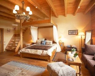 Спальня с мезонином